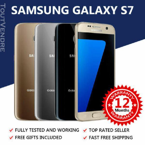 Téléphone portable débloqué android samsung galaxy s7