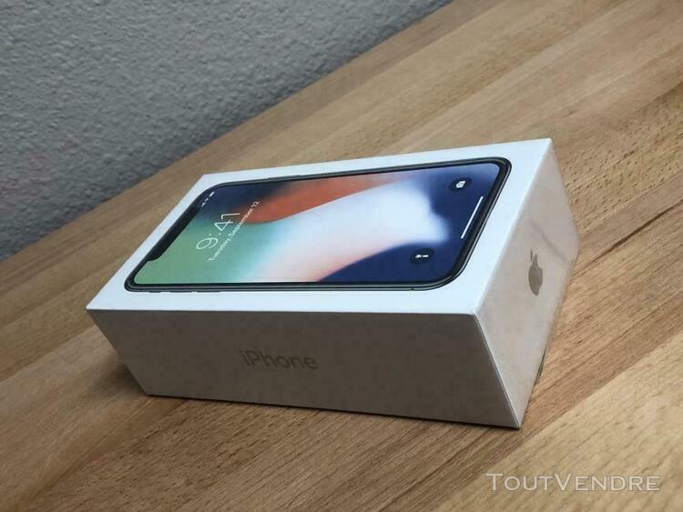 Téléphone portable iphone x 256 go - idée de cadeau neuf
