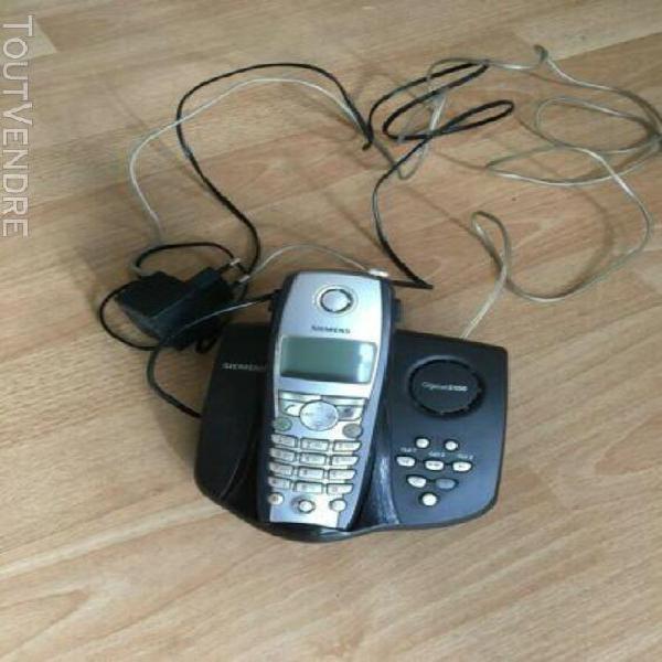 Téléphone répondeur sans fil dect siemens gigaset s150