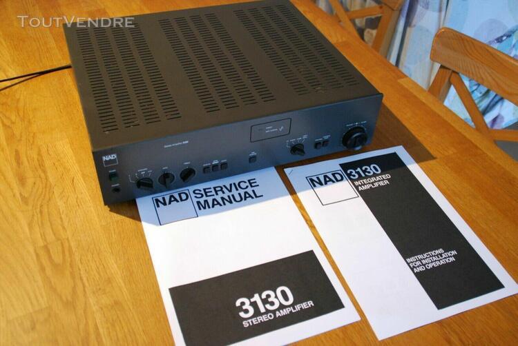 Ampli hifi audiophile vintage (1985/1987) nad 3130 + service