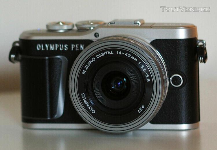 Appareil photo hd numérique olympus e-pl9 objectif pancake