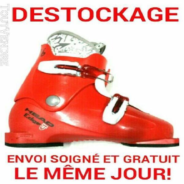 """Chaussure de ski enfant head """"edge"""" tailles:32 au 36 idéal"""
