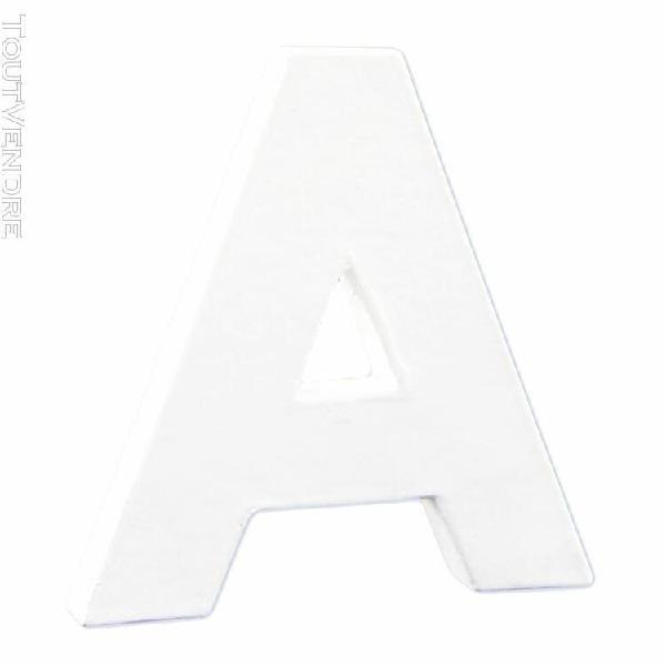 lettre a a personnaliser - 12cm