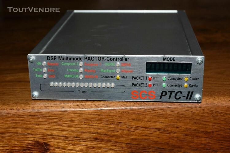 Modem dsp scs ptc-ii 1200-2400-9600 b - hf et vhf/uhf