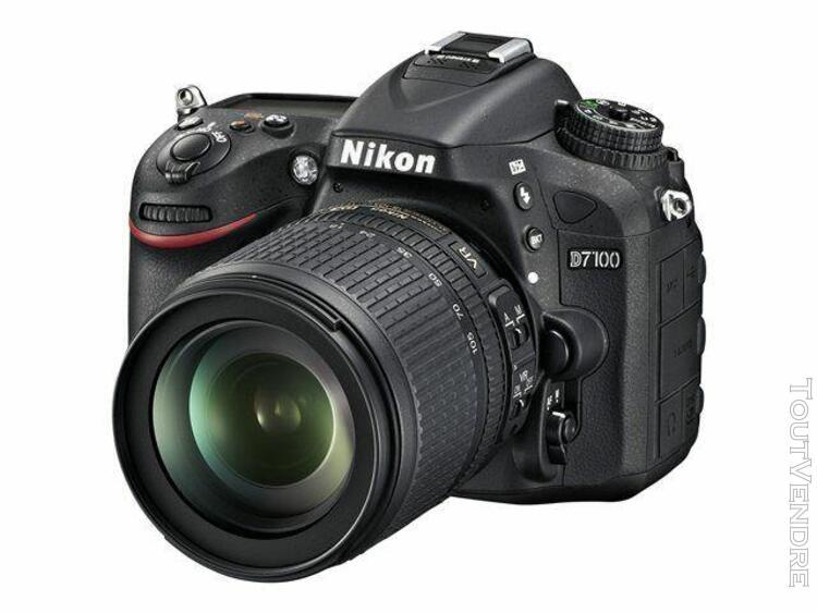 Nikon d7100 - appareil photo numérique - reflex - 24.1 mpix