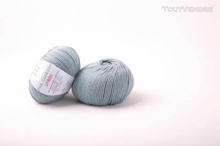 pelote de laine caresse fjord 50 g