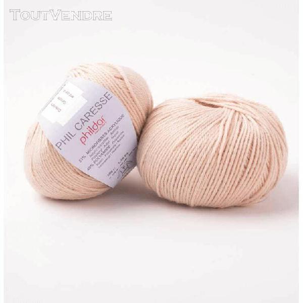 pelote de laine caresse sable 50 g