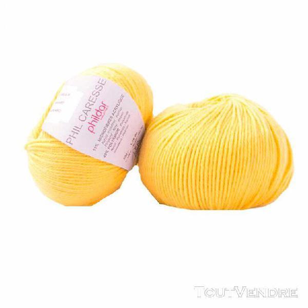 pelote de laine caresse soleil 50 g