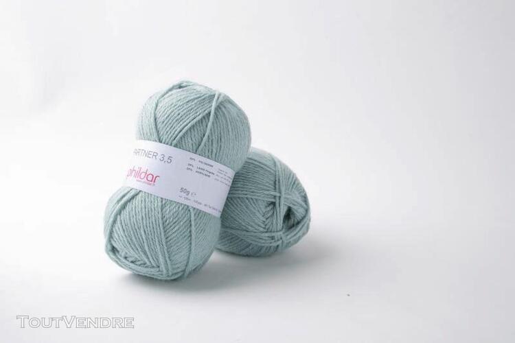 pelote de laine partner 3,5 amande 50 g