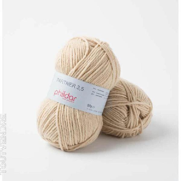 pelote de laine partner 3,5 biche 50 g
