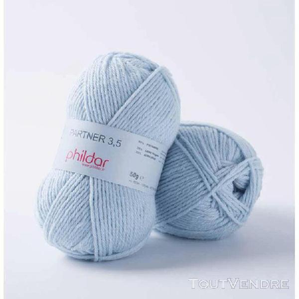 pelote de laine partner 3,5 ciel 50 g
