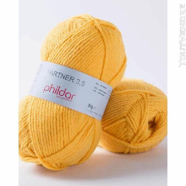 pelote de laine partner 3,5 orge 50 g