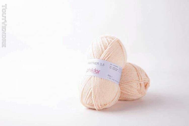 pelote de laine partner 3,5 peau 50 g