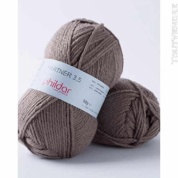 pelote de laine partner 3,5 renne 50 g