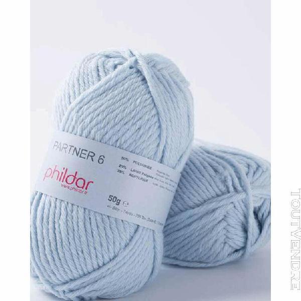 pelote de laine partner 6 ciel 50 g