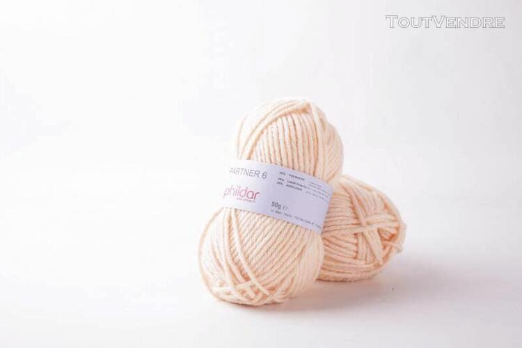 pelote de laine partner 6 peau 50 g