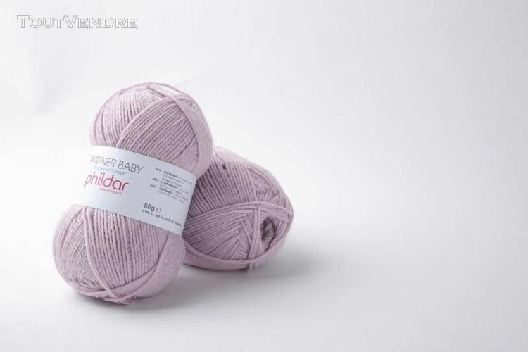 pelote de laine partner baby guimauve 50