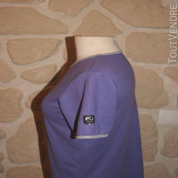 Tee-shirt manches courtes thermorégulant neuf violet taille