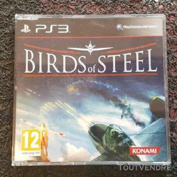 Birds of steel - jeu ps3 - promo only/not for resale/press e