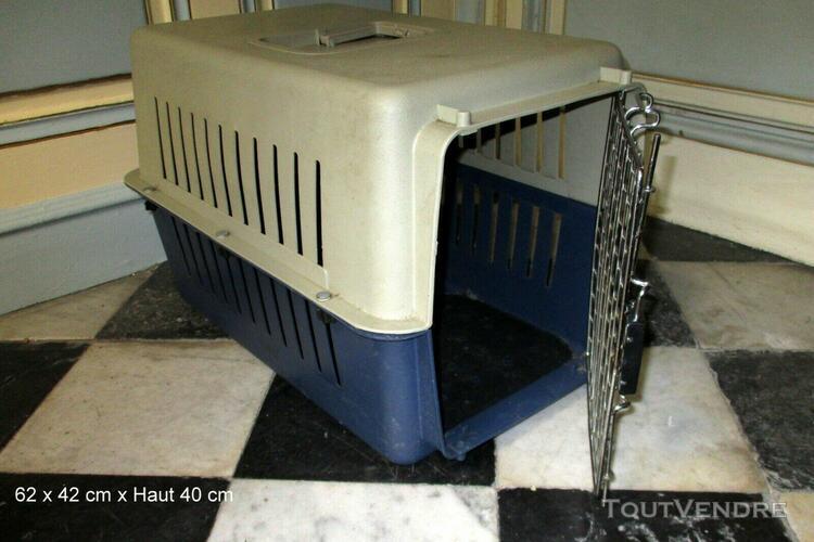 Cage, caisse de transport pour chien & chat