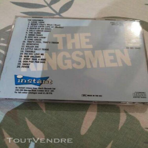 Cd de the kingsmen - louie, louie (with/without case) 1991 c