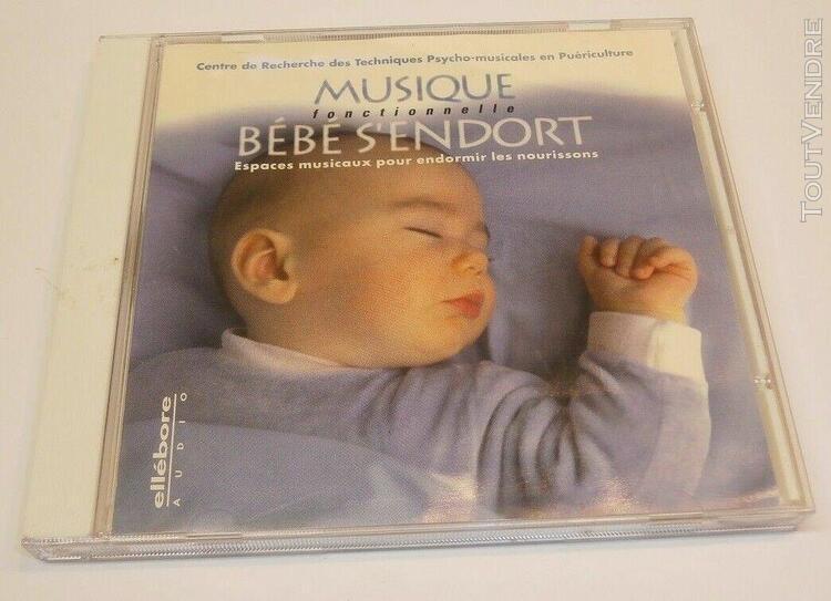 cd -musique, bébé s'endort