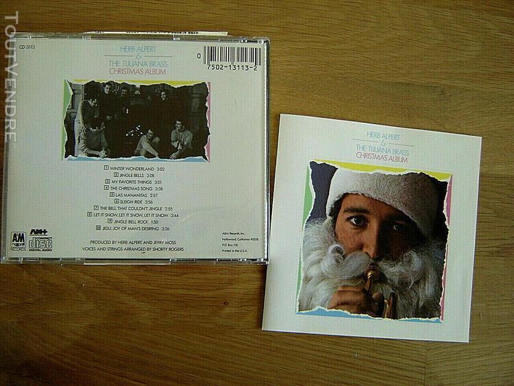 "cd press usa *herb alpert & the tijuana brass""christmas alb"