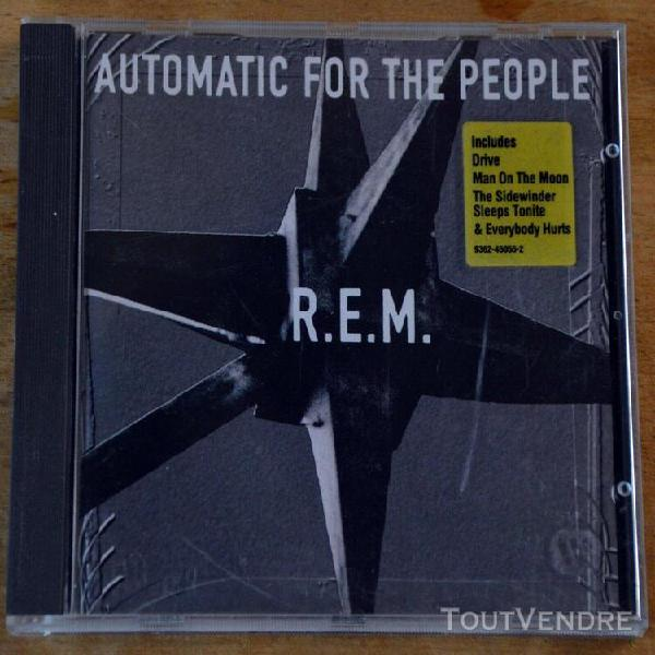cd r.e.m. automatic for the people