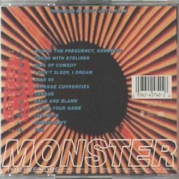 cd r.e.m. - monster