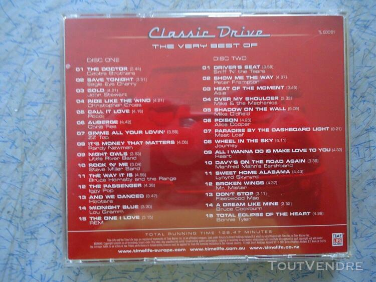 classic drive (the very best of) 2xcd