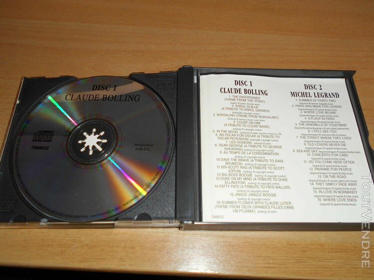 claude bolling & michel legrand - piano favourites - coffret