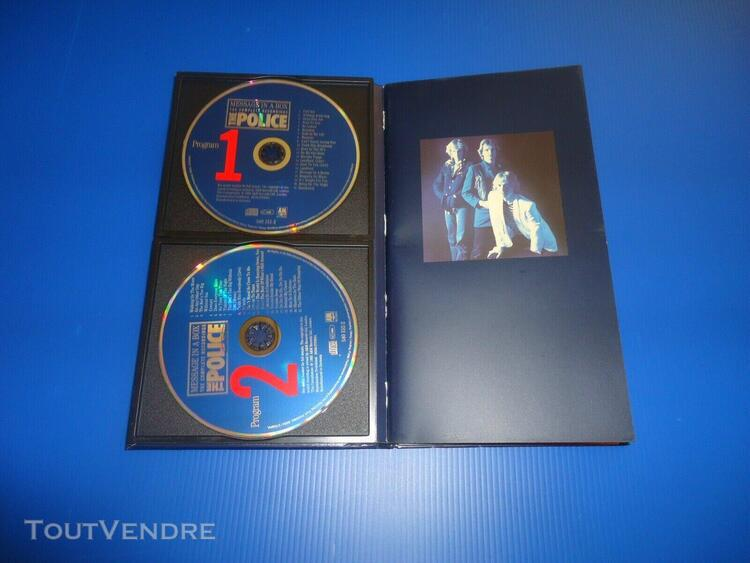 coffret de 4 cd.the police.message in a box the complete rec