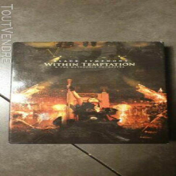 "double cd digipac within temptation "" black symphony "" met"