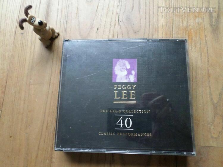 double cd peggy lee the gold collection best of vintage mari