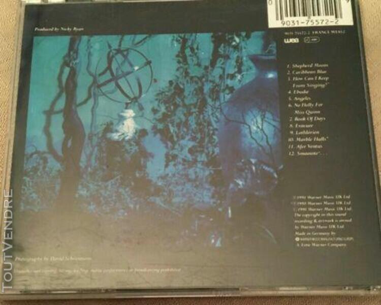 enya cd shepherd moons - europe (ex/ex)