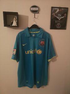 Fc barcelone maillot 2007 nike xl barça