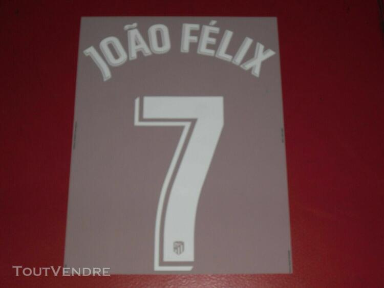 Flocage officiel joao felix atletico home 2019/2020
