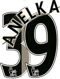 flocage officiel premier league (sporting id) - chelsea -