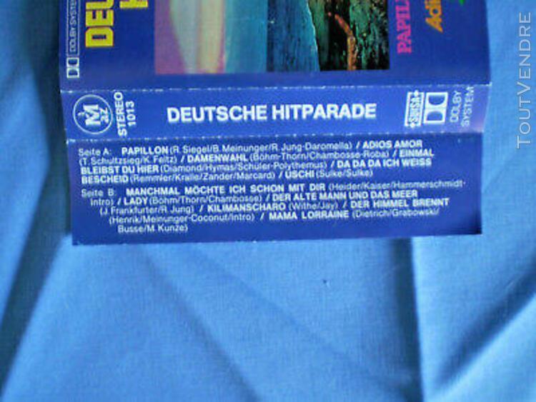 k7 audio_deutsche hitparade variétés allemandes__tbé