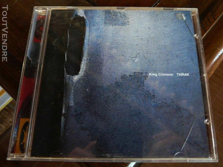 "king crimson ""thrak"" rare cd on dgm, fine."