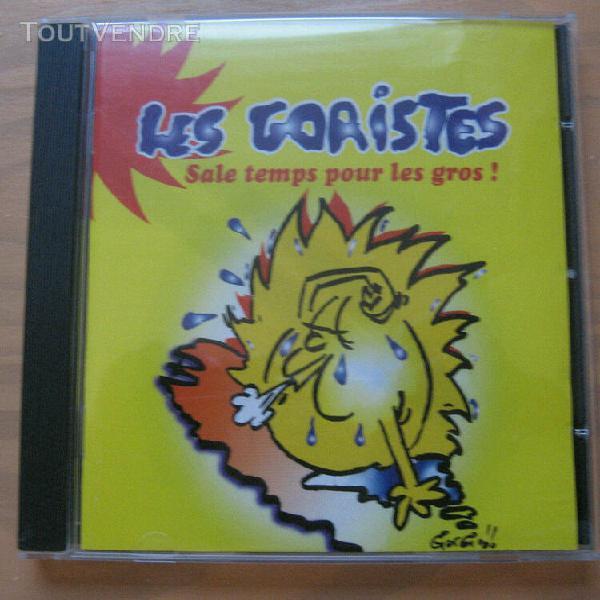 les goristes - sale temps pour les gros ! cd folk bretagne