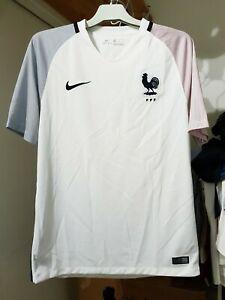 Maillot away équipe de france espoirs stock pro (mc-m)