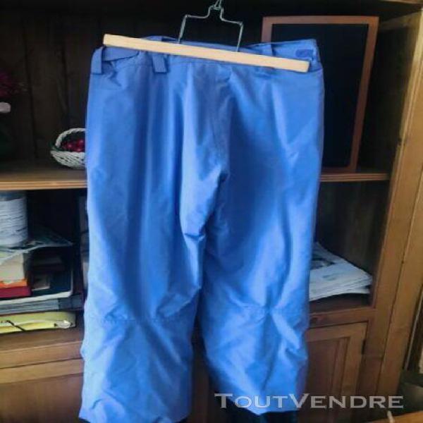 Pantalon de ski t.40 couleur violet porté une fois sun