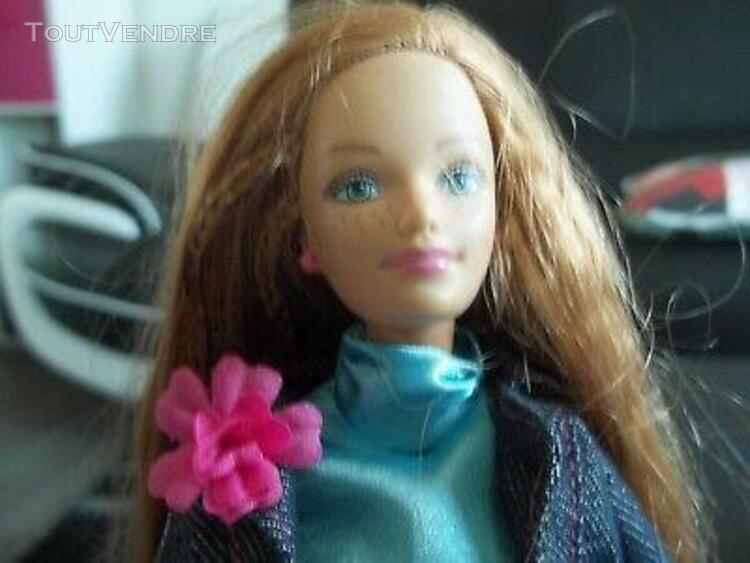 Tres belle poupee barbie de collection-midge-annee 1985