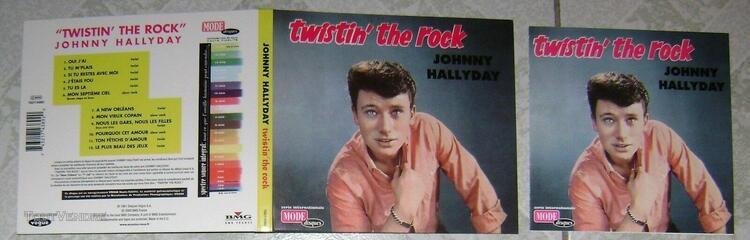 twistin' the rock cd johnny hallyday
