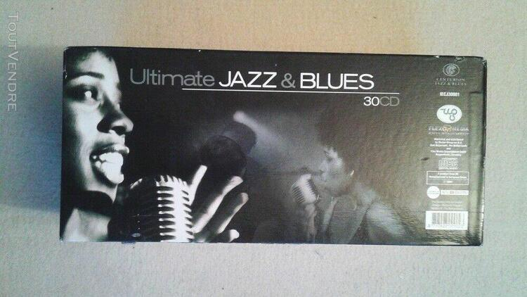 ultimate jazz & blues: coffret 30 cd