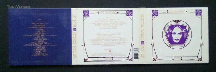 vanessa paradis best of double cd