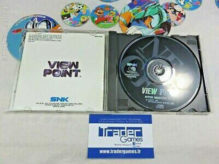 View point neogeo cd usa/english snk