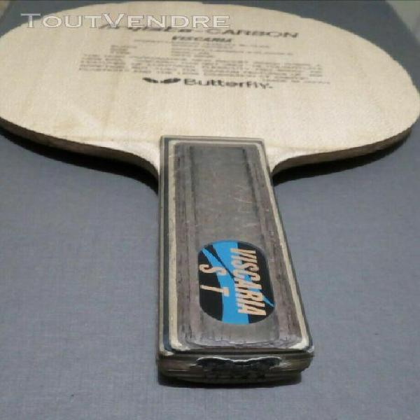 Viscaria st butterfly rare blade bois racket table tennis pi