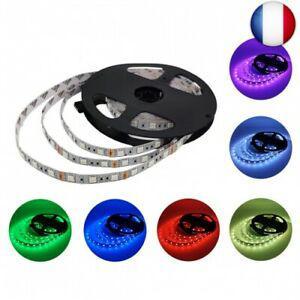 Dc 12v rgb multicolore bande led non etanche flexible 5050